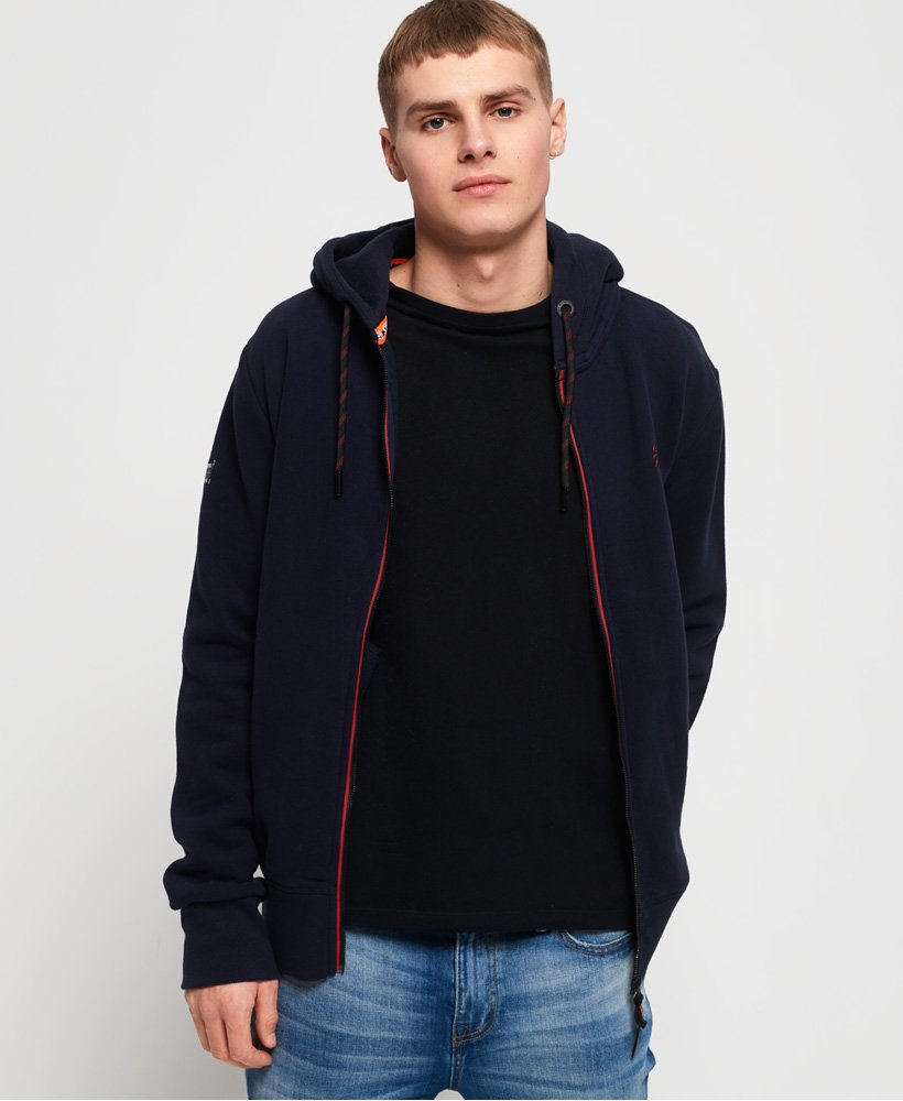 Superdry Orange Label Urban Zip Hoodie