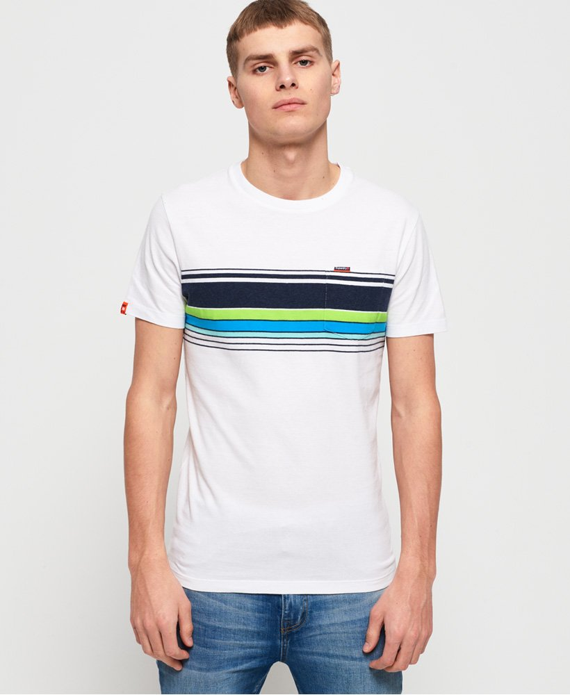 Superdry Cali Chest Band Pocket T-Shirt thumbnail 1