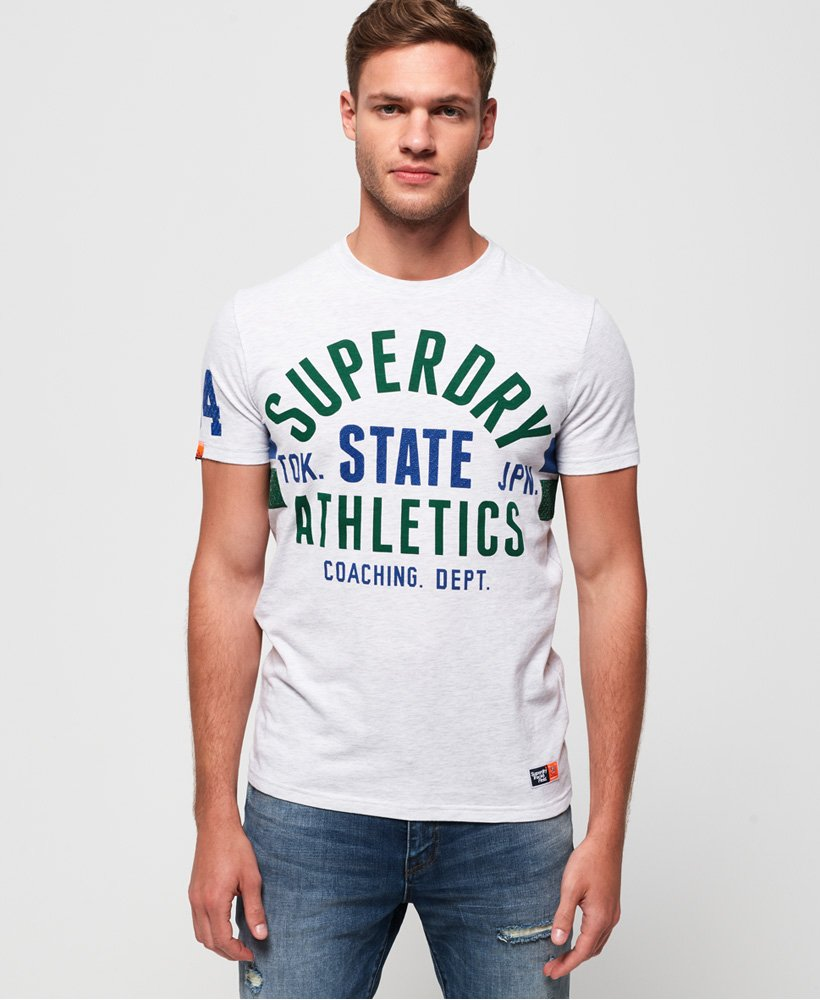 Superdry T-shirt tricolore léger Track & Field  thumbnail 1