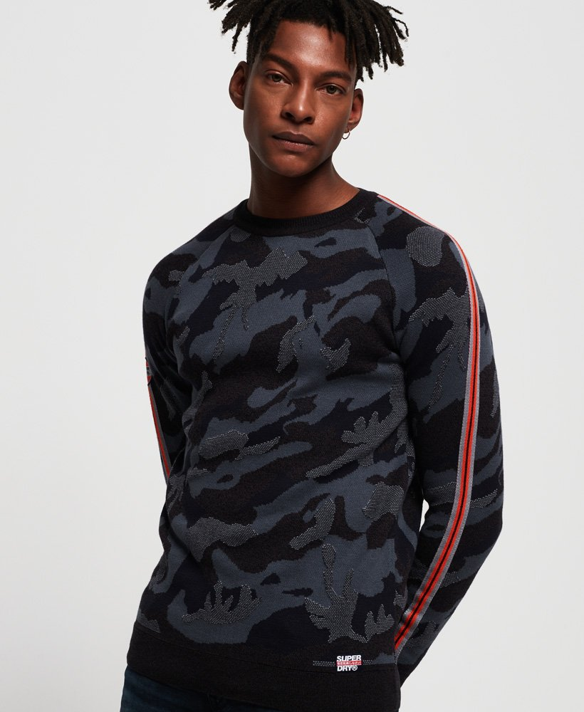 Superdry Camo Crew Jumper