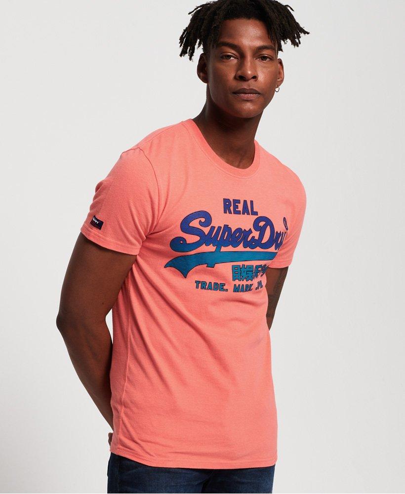 Superdry Camiseta de gramaje medio con logo Vintage descolorido thumbnail 1