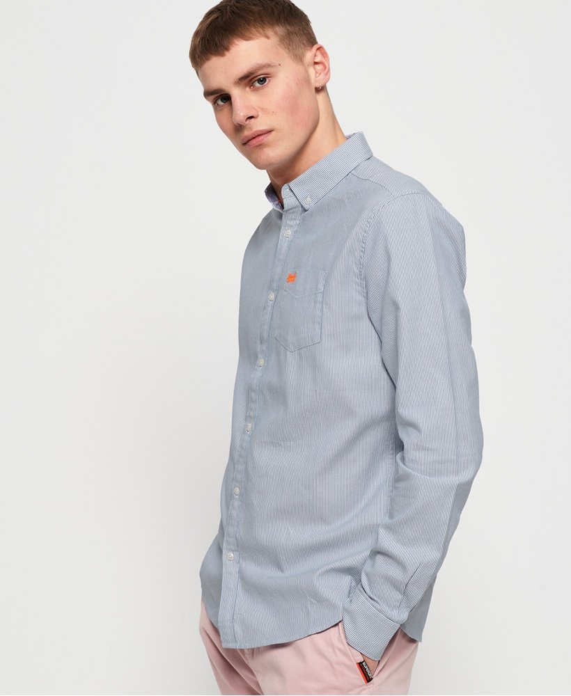 Superdry Camisa Premium University Oxford  thumbnail 1