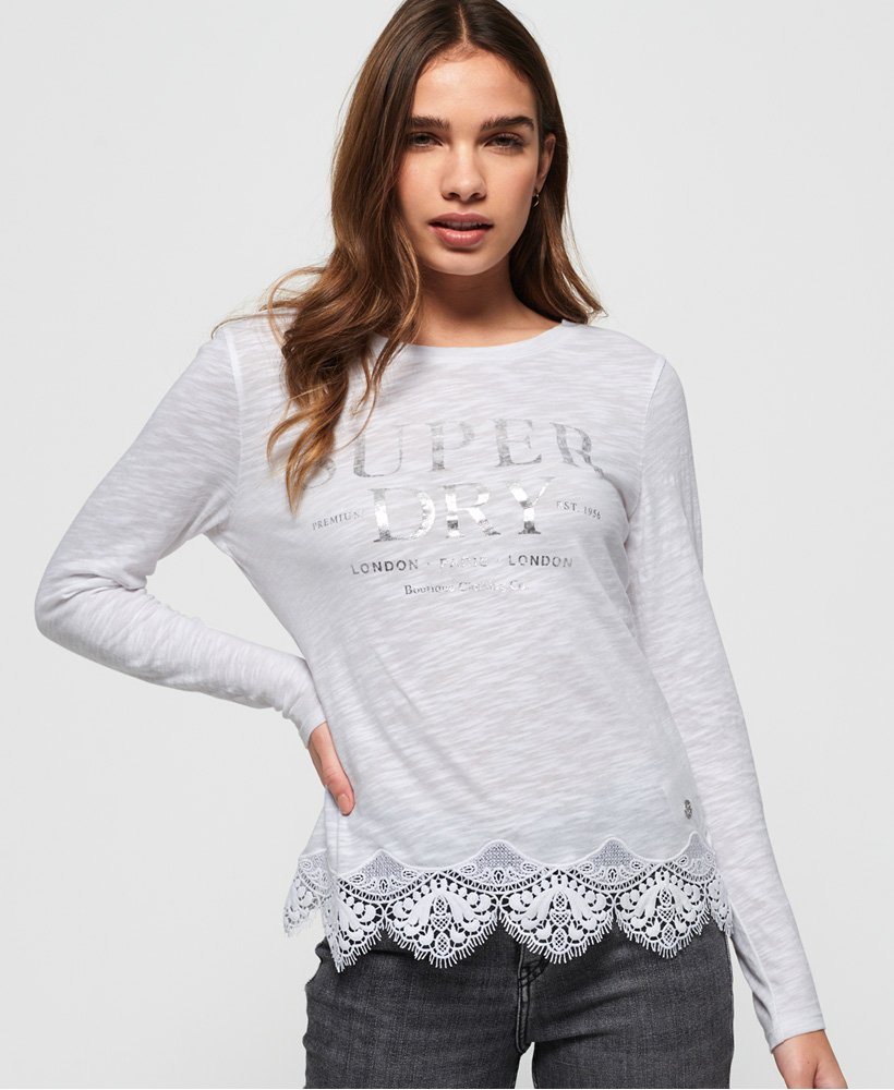 Superdry Annabeth Lace Top thumbnail 1