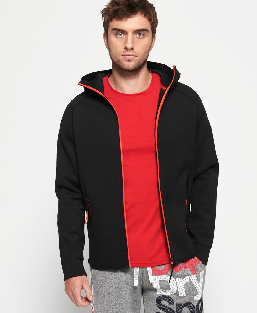 Superdry Gym Tech Stretch Zip Hoodie thumbnail 1