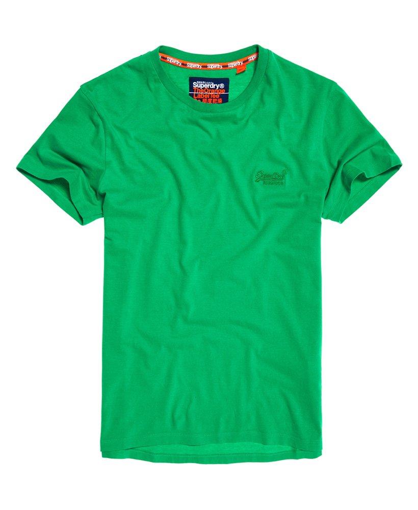 Superdry T-shirt Lite Orange Labe
