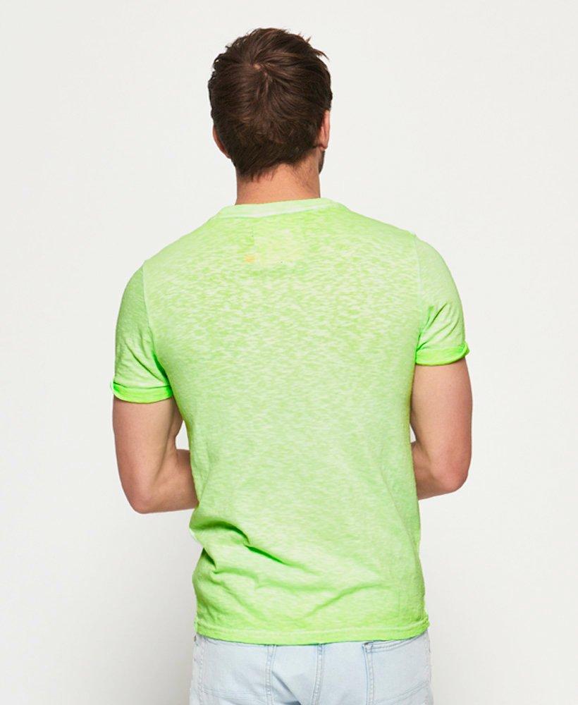 SUPERDRY LOW ROLLER TEE  Surge Green