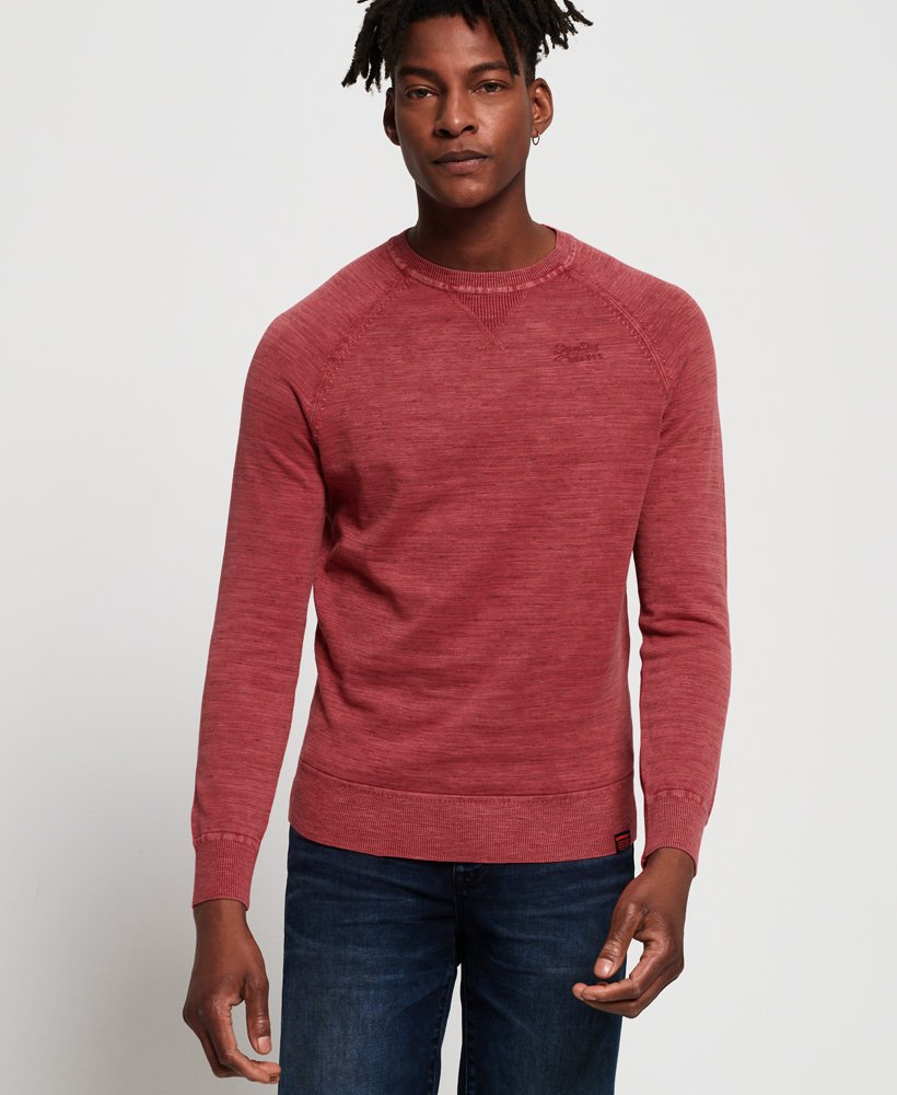 Superdry Garment Dyed L.A Crew Jumper thumbnail 1