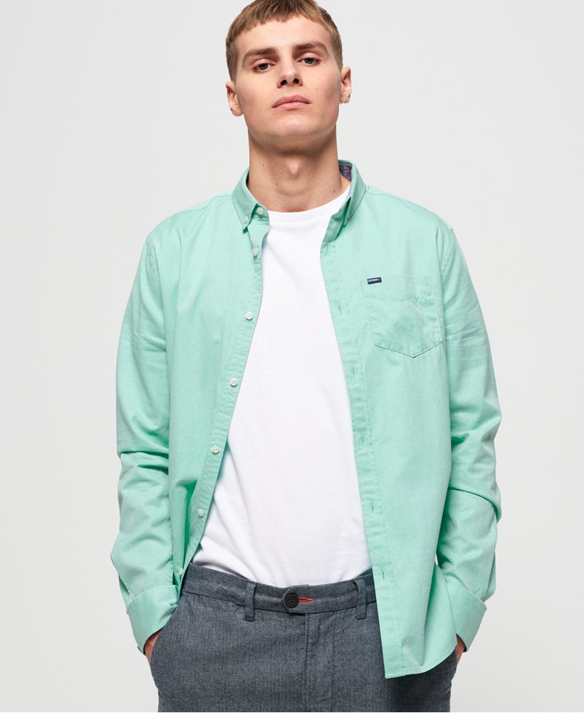 Superdry Premium University Oxford Shirt  thumbnail 1