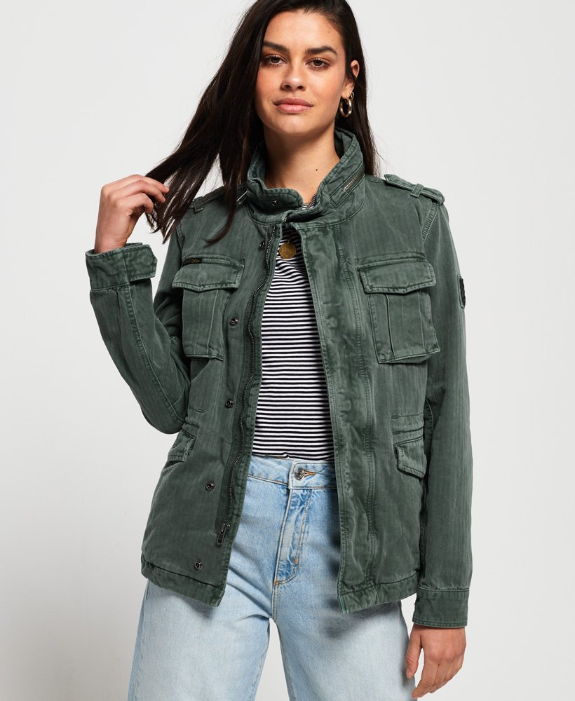 Superdry Kiona Rookie Pocket Jacket thumbnail 1