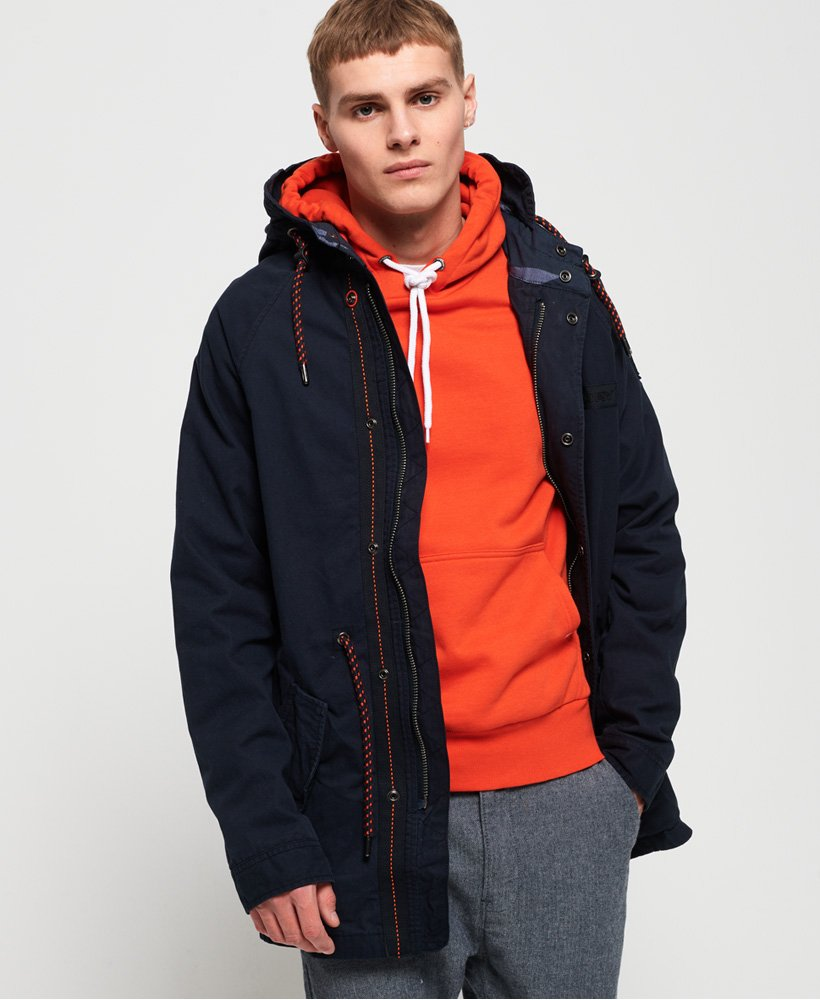 Superdry Aviator Rookie Parka Jacket  thumbnail 1
