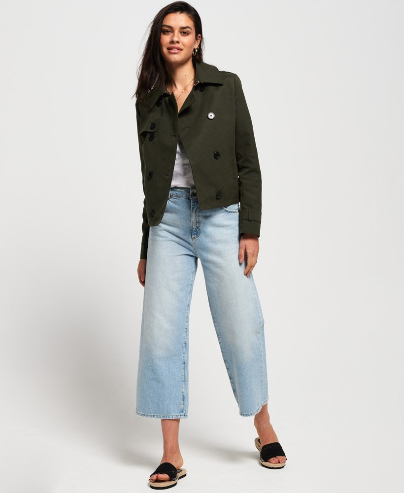 superdry trench court azure