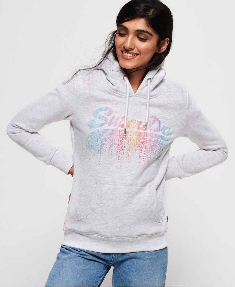 Superdry Vintage Logo Cascade Hoodie  thumbnail 1
