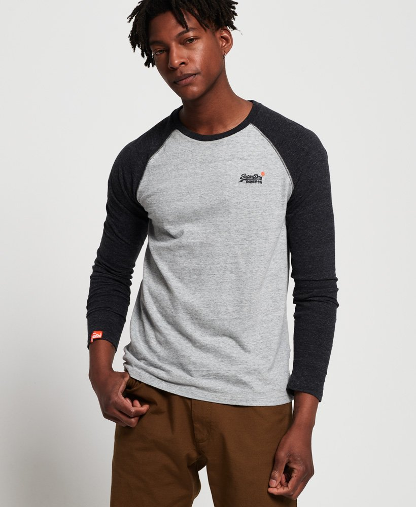 Superdry Baseball Long Sleeve T-Shirt thumbnail 1