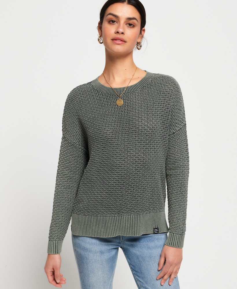 Superdry Freya Acid Wash Knit thumbnail 1