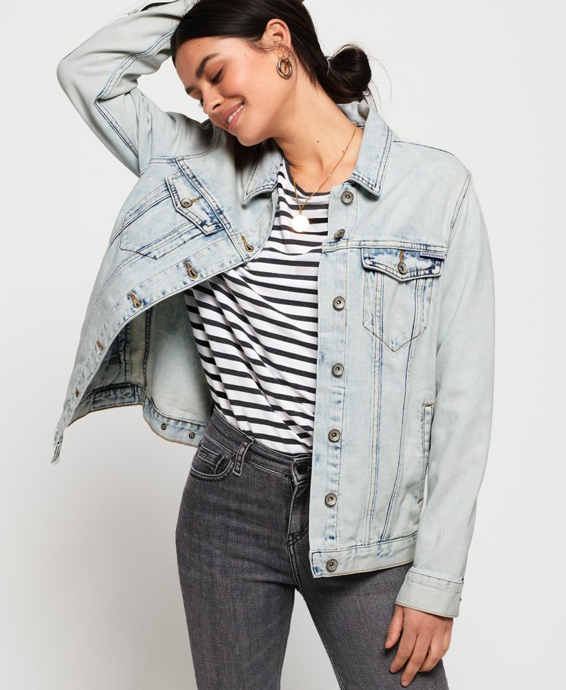 Superdry Giacca lunga in denim