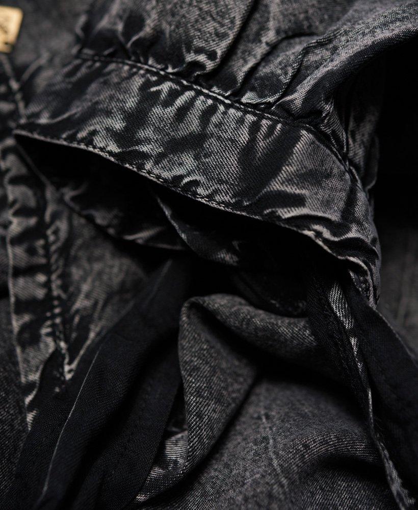 928a203d Superdry Eden cold shoulder-kjole - Damer Kjoler
