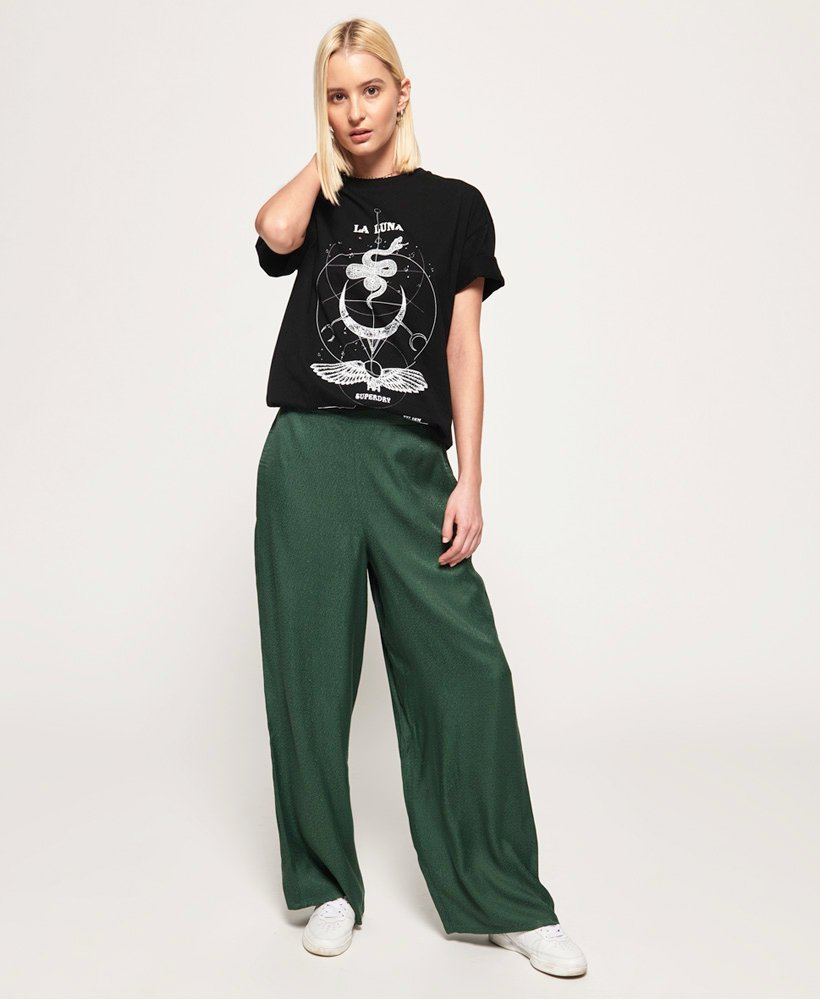 Superdry Janis Wide Leg Trousers