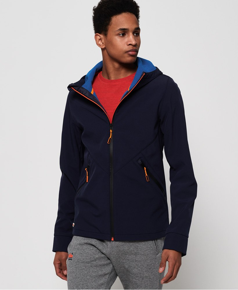 Superdry Mountain Softshell Zip Hoodie thumbnail 1