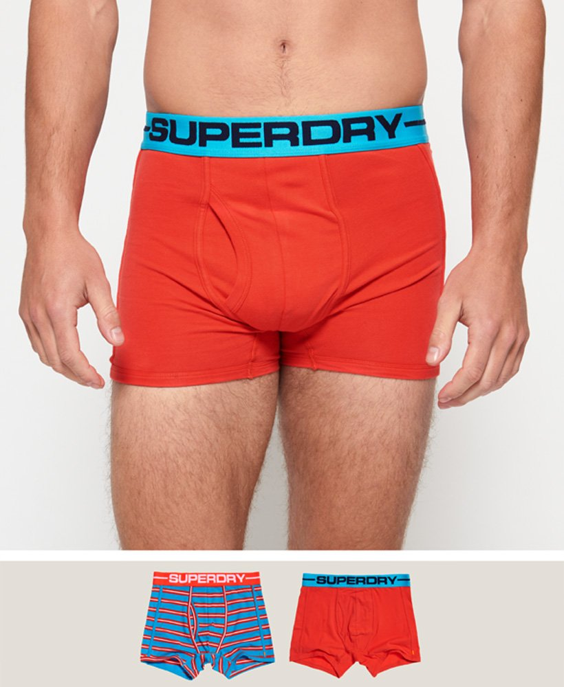 Superdry Sport Boxers Double Pack thumbnail 1