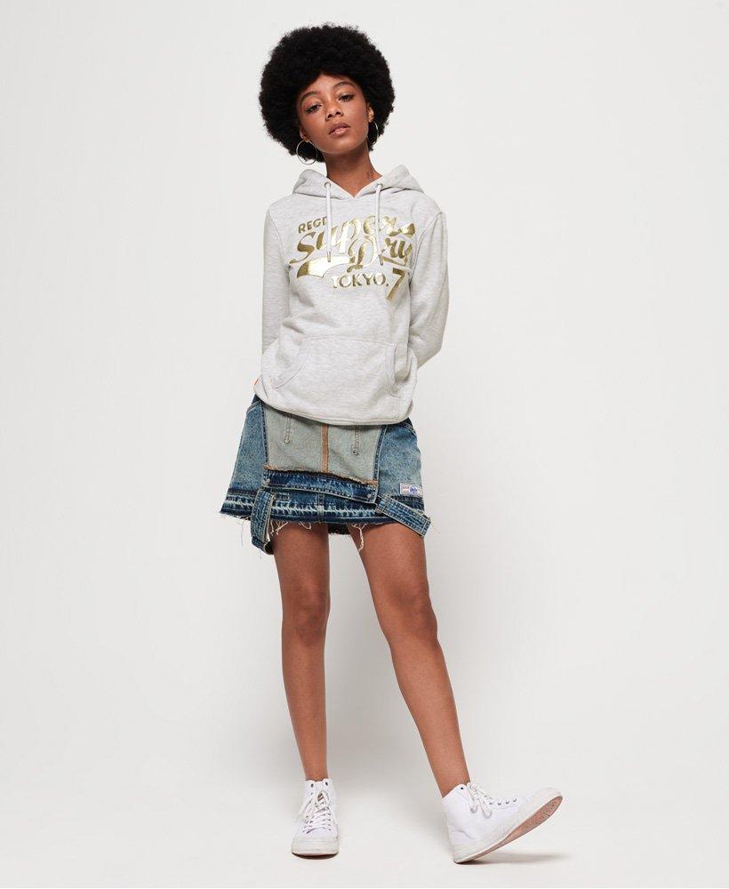 Superdry Tokyo 7 Texture Foil hoodie