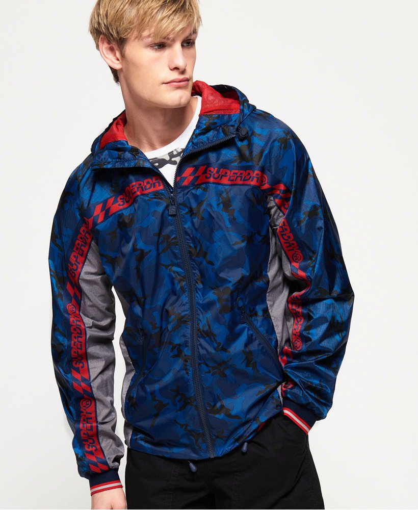 Superdry Hawk Colour Block Cagoule  thumbnail 1