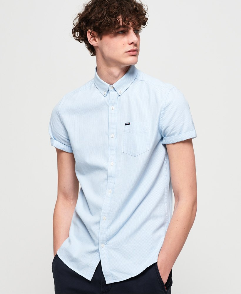 Superdry Premium University Oxford Short Sleeve Shirt