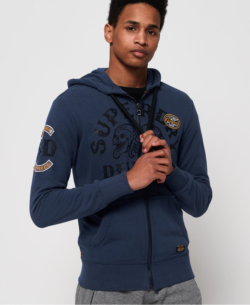 Superdry Moto City Lite Zip Hoodie  thumbnail 1