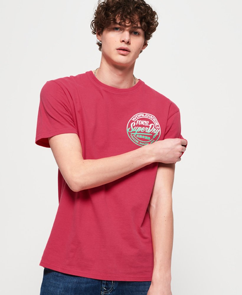 Superdry Ticket Type T-Shirt in Übergröße thumbnail 1