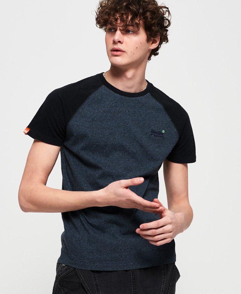 Superdry Orange Label Baseball Short Sleeve T-shirt thumbnail 1