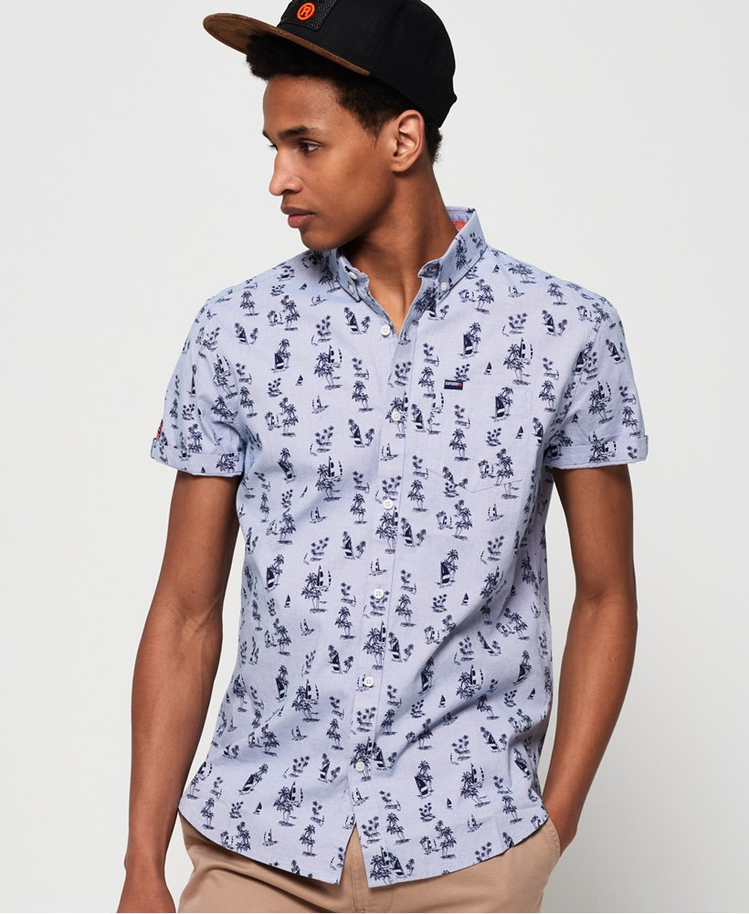 Superdry Premium Shoreditch Short Sleeve Shirt  thumbnail 1