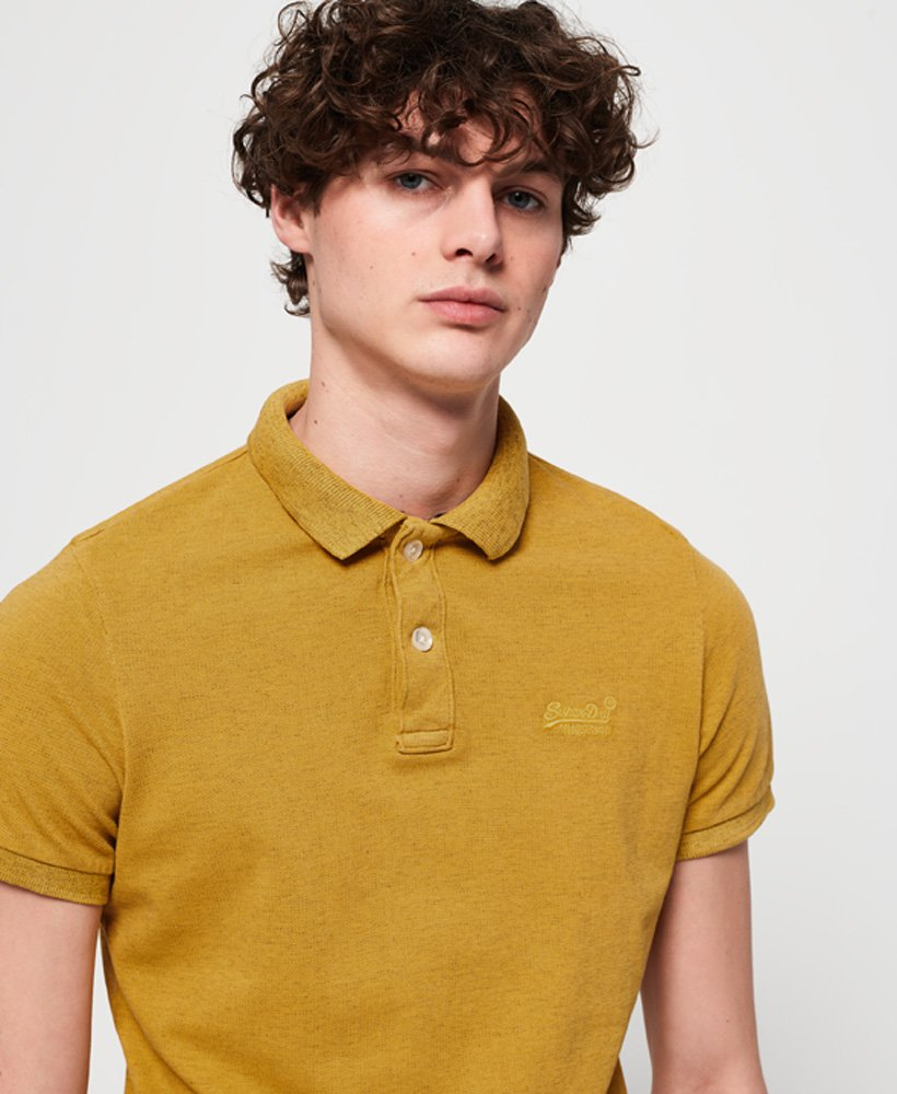 Superdry Vintage Destroyed Polo Shirt thumbnail 1