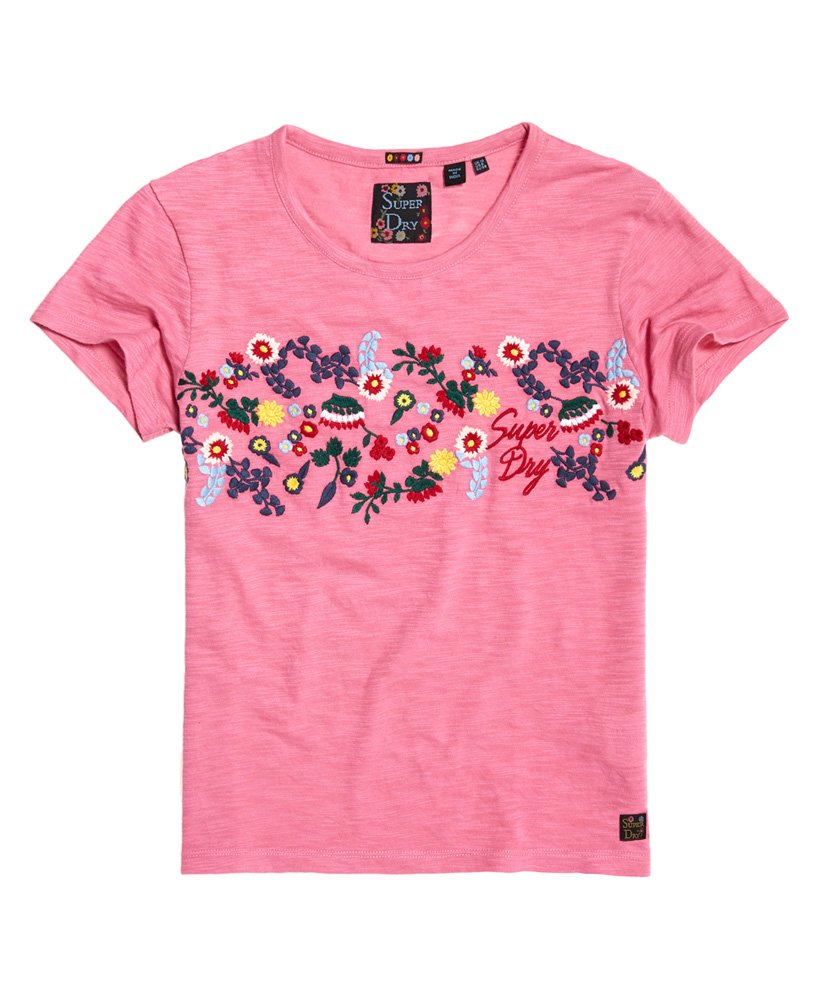a1ea76868bb3ff Superdry Lexi Embroidered T-Shirt - Women s T Shirts