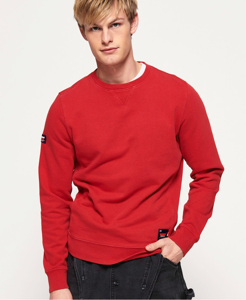 Superdry Dry Originals rundhalsad sweatshirt