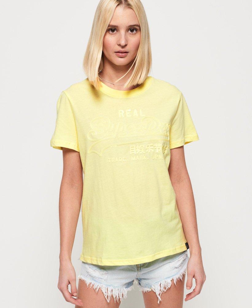 Superdry T-shirt ton sur ton à logo Vintage thumbnail 1