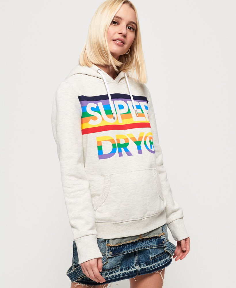 Superdry Sweat à capuche arc-en-ciel Sport