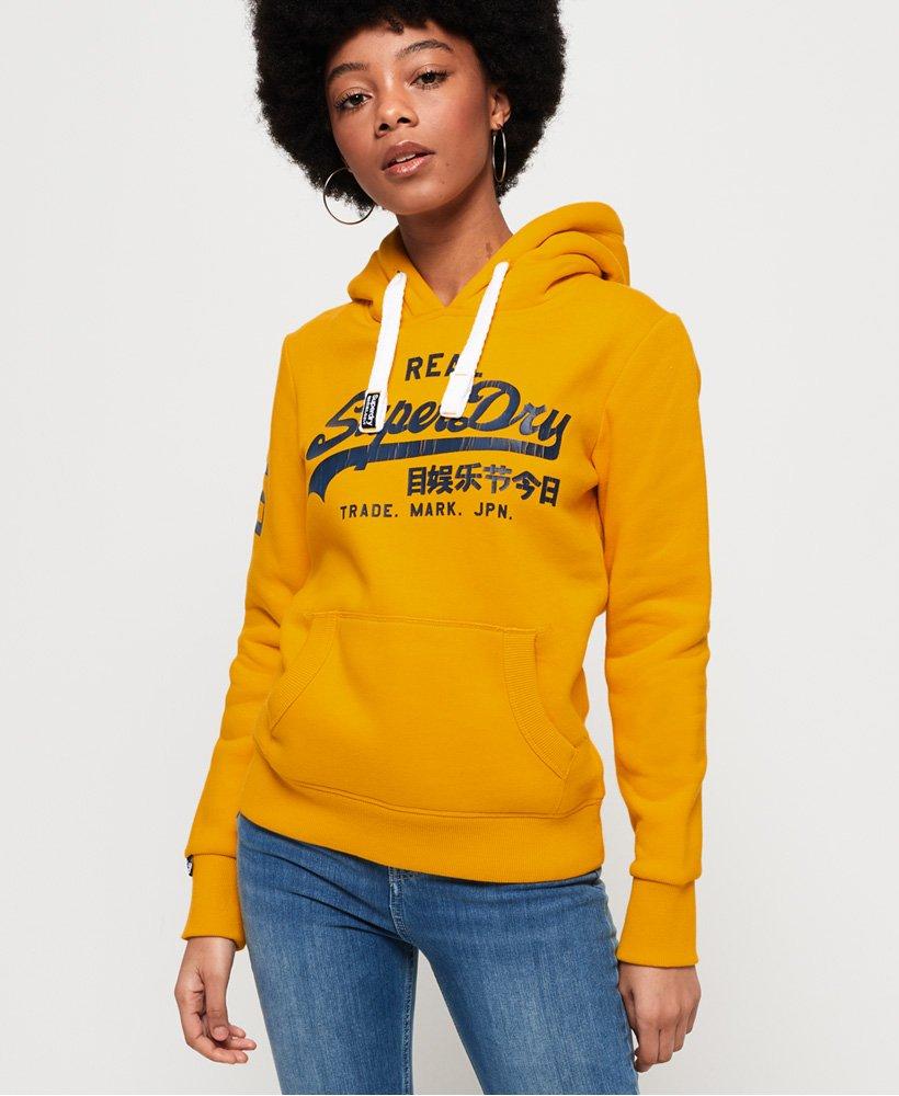 Superdry Sweat à capuche et logo vintage Sport Sweats à