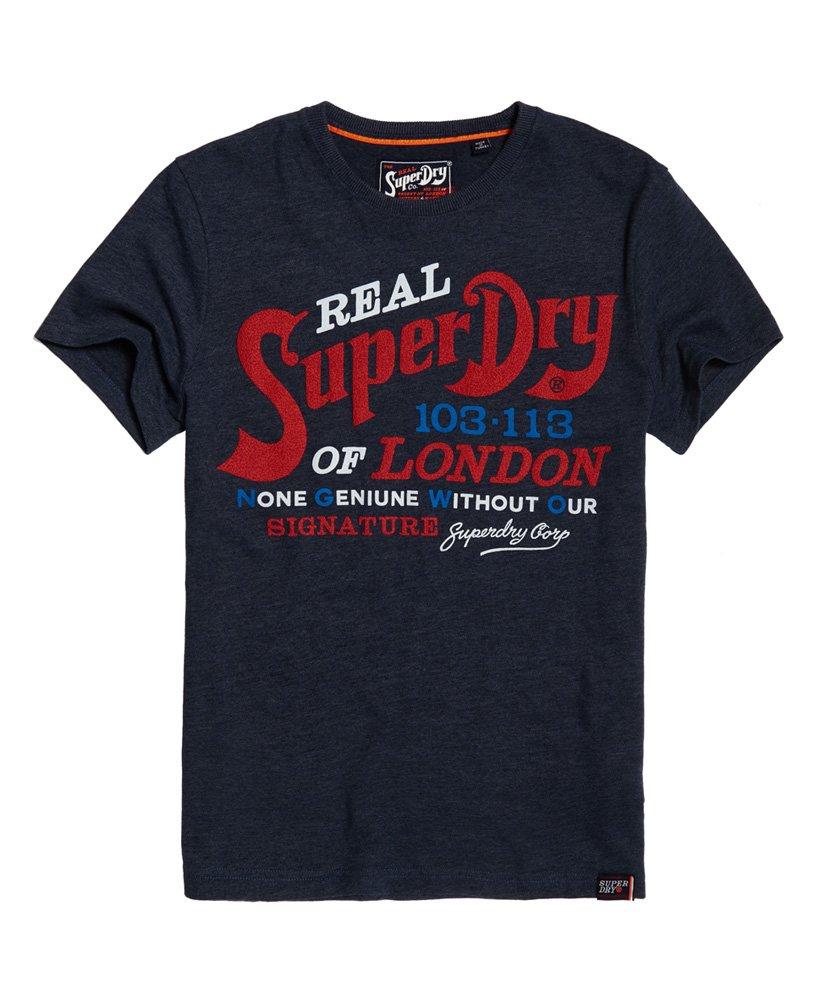 Superdry Regent Street Flagship T skjorte Herre T skjorter