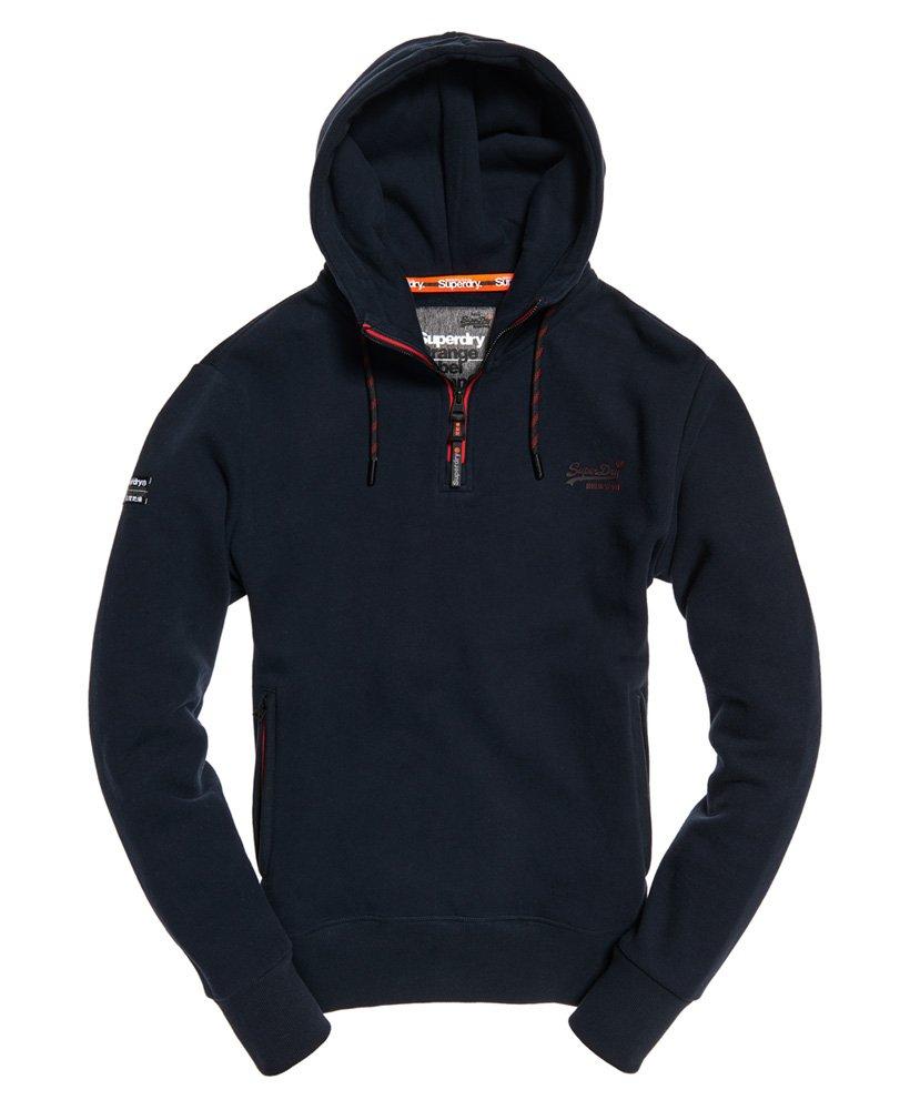 Superdry Orange Label Urban Half Zip Hoodie