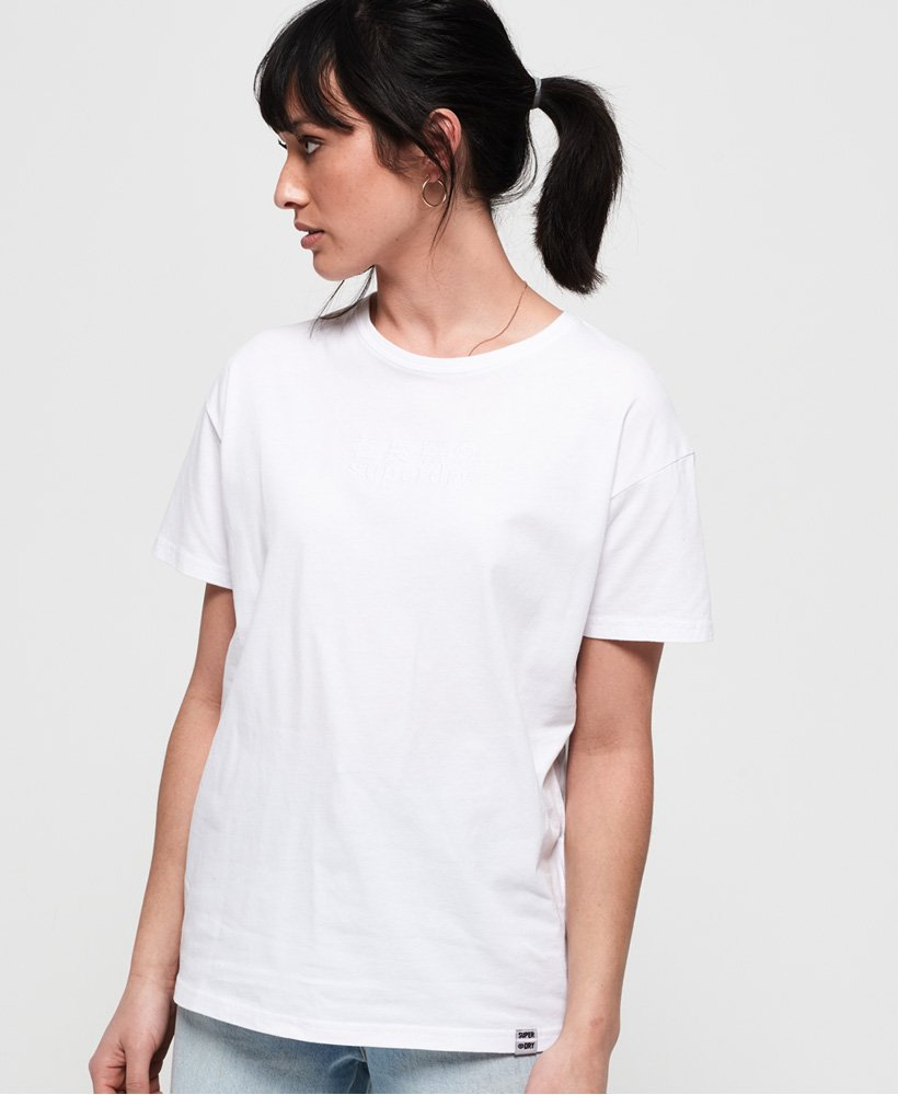 Superdry Minimal Logo Tonal Oversized Portland T-Shirt thumbnail 1