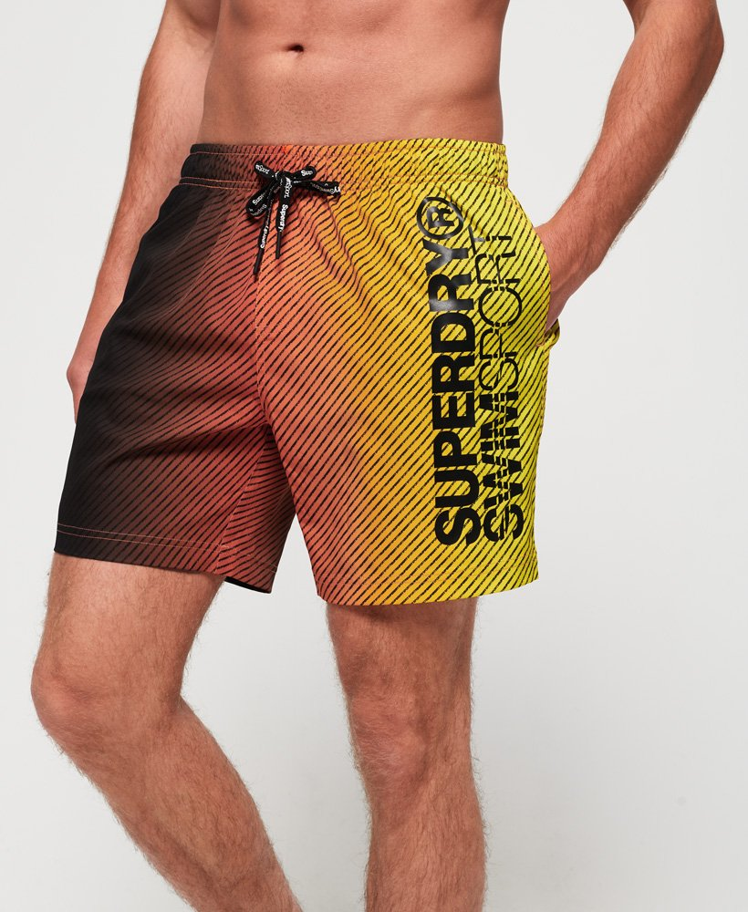 Superdry Sport Volley zwemshort thumbnail 1