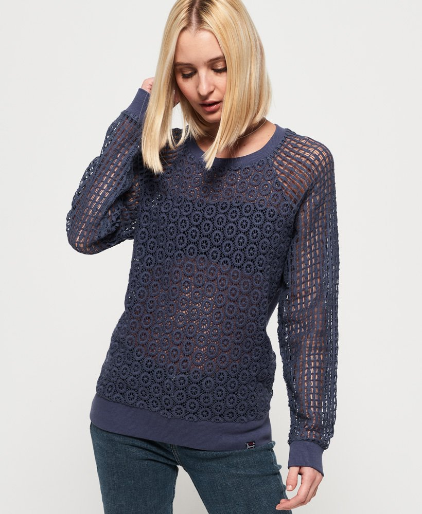 Superdry Prairie Lace Top thumbnail 1