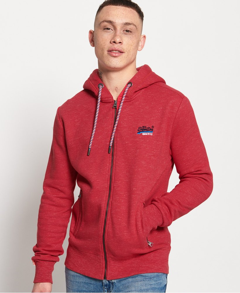 Superdry Cali Kapuzenjacke aus der Orange Label Kollektion