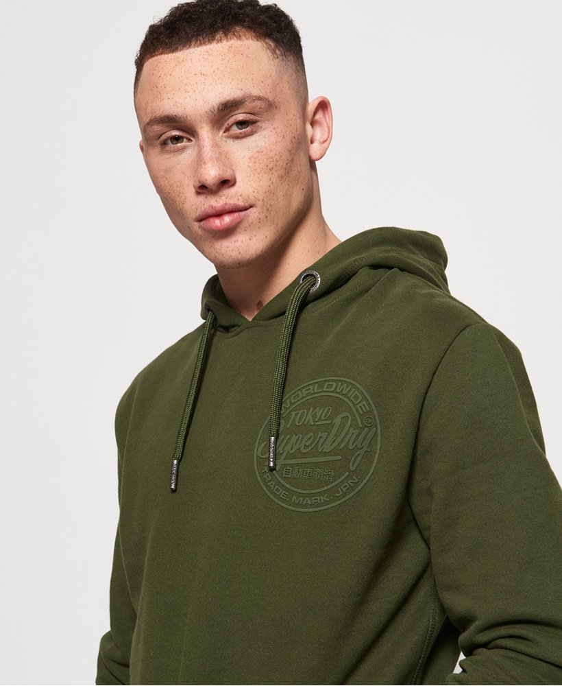 Superdry Ticket Type Mono Hoodie thumbnail 1