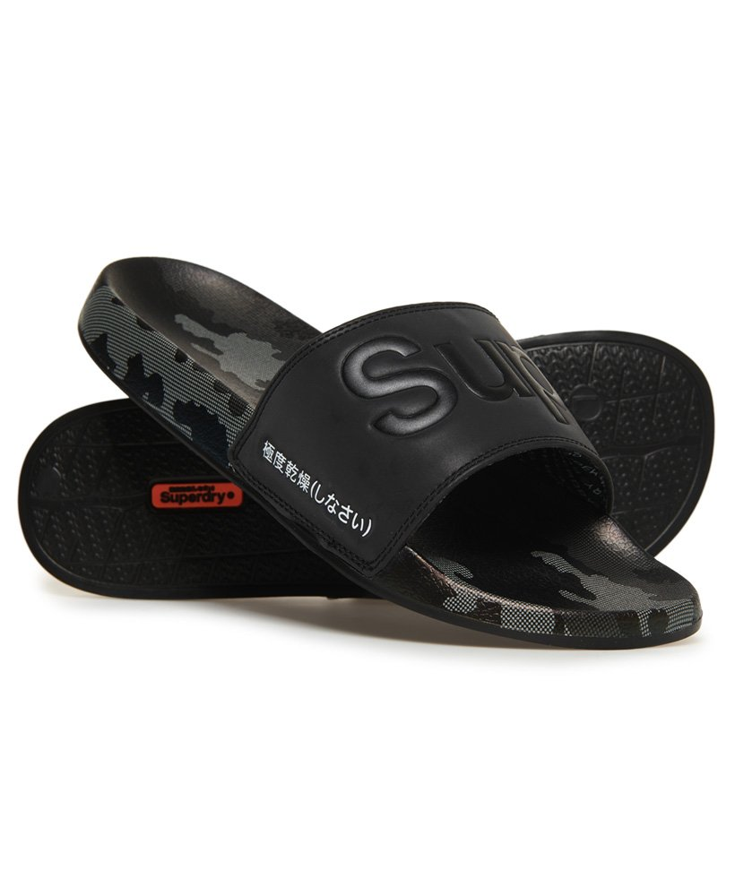 Superdry All Over Print Beach Sliders thumbnail 1