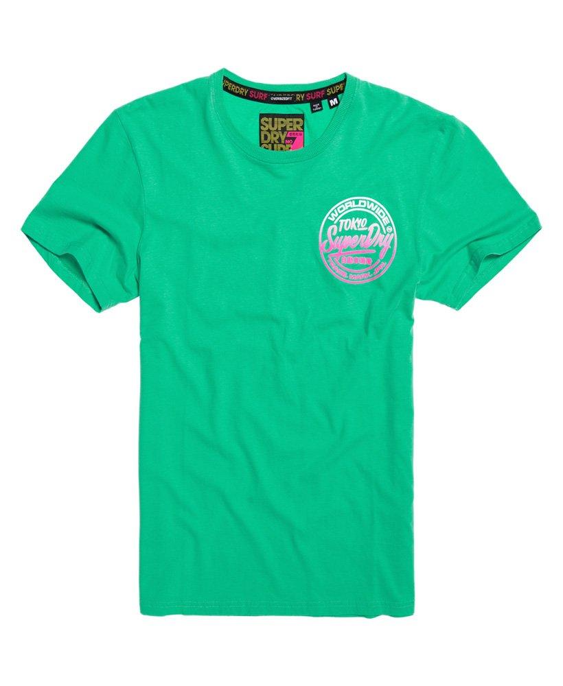 Superdry Ticket Type T skjorte med overdimensjonert passform