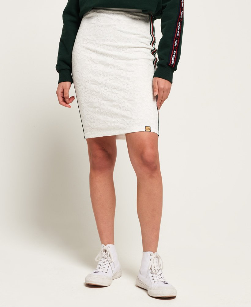 Superdry Blake Lace Midi Skirt thumbnail 1