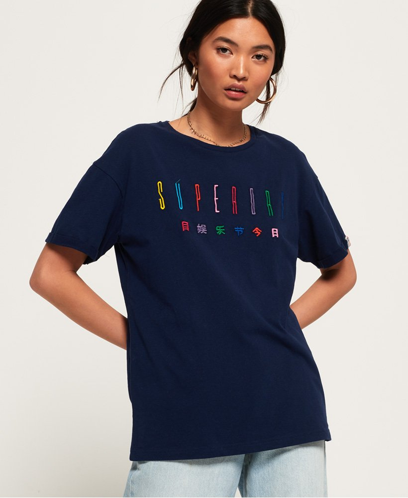 Superdry Paulo Embroidered T-Shirt