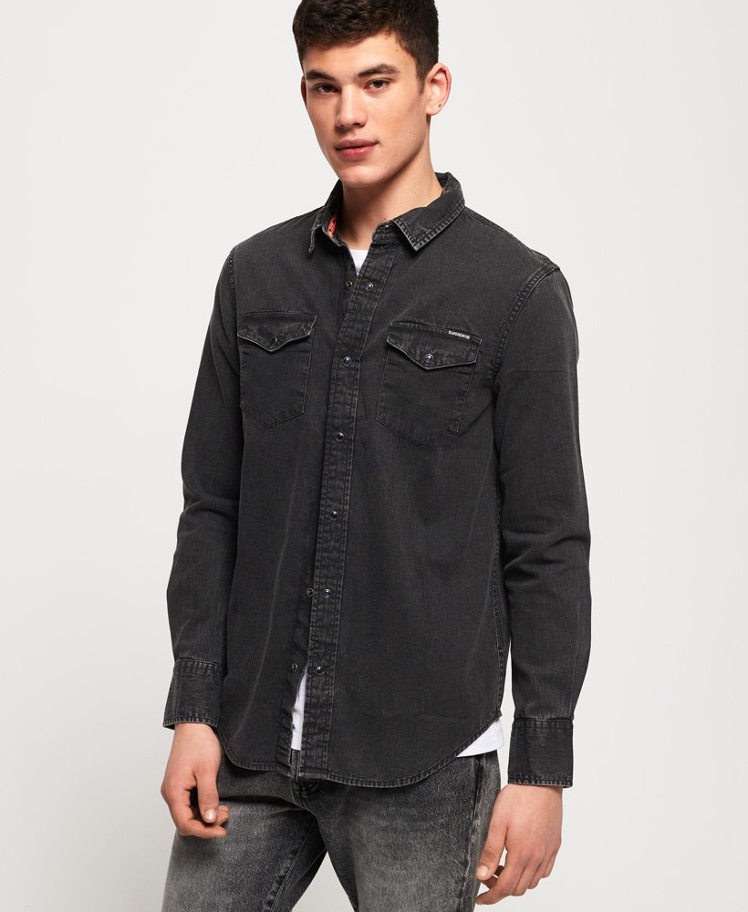 Superdry Resurrection Long Sleeve Shirt thumbnail 1