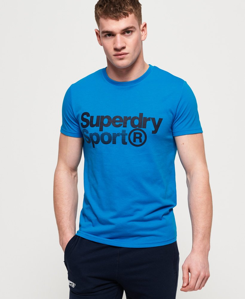 Superdry Core Sport T-Shirt mit Grafik thumbnail 1