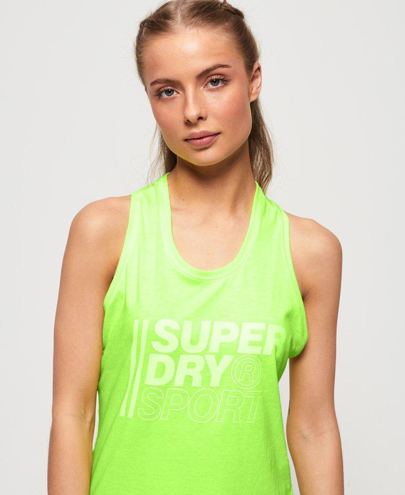 Superdry Débardeur à motif Core Sport Tops pour Femme